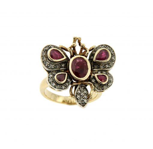 anello-farfalla-b09
