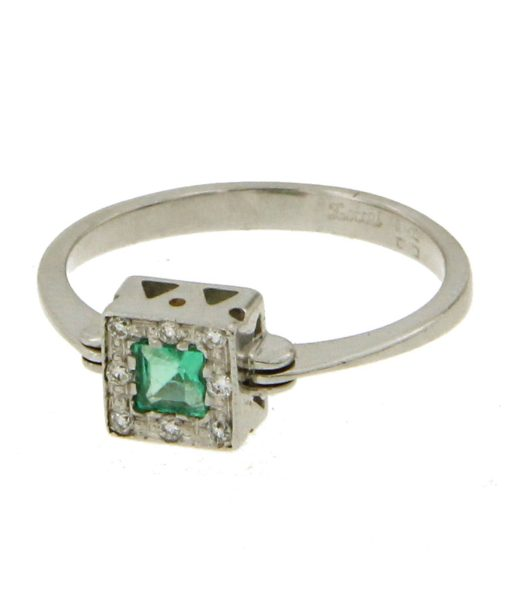 anelli-smeraldo diamanti-bl37