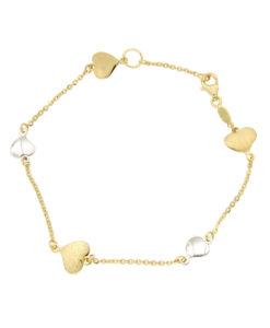 bracciali-cuore due ori-or165