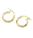 orecchini-verette tre ori-or134a