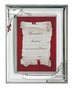 silver-frame graduation 13x18