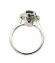 anello ametista e diamanti