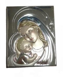 argento-madonna con bambino