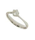 anelli-solitario esagonale-b226