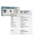 zaffiro viola certificato igi