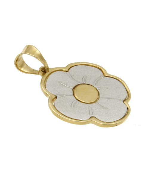 collane-ciondolo fiore-or301