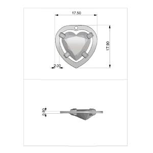 Inviaci un disegno dettagliato della tua idea e crea il tuo gioiello personalizzato
