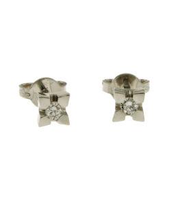 orecchini-punto luce diamanti-n355