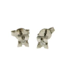 orecchini-punto luce diamanti-n356