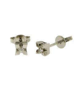 orecchini-punto luce diamanti-n356b