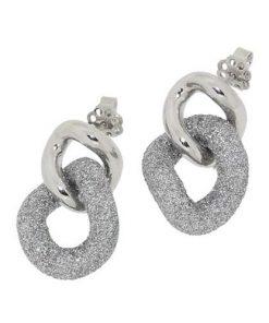 orecchini zoppini diamantati