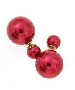 orecchini doppia boulle