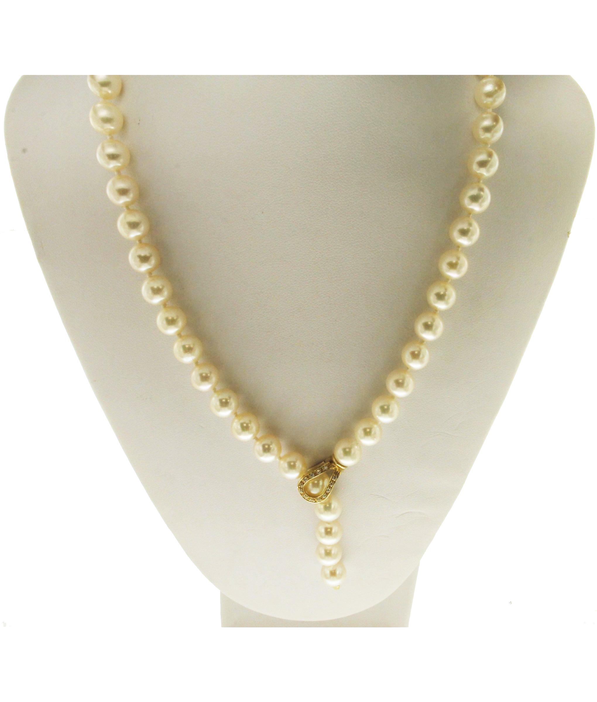 vari colori c4711 cedef Collana di perle akoya