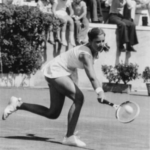 La tennista Chris Evert, che rese famoso il bracciale tennis