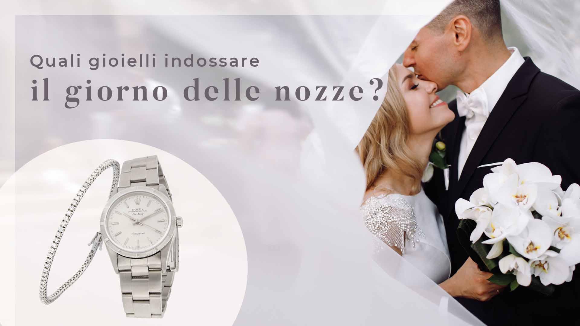 Quali gioielli indossare per le nozze? Per gli sposi i gioielli sono importanti tanto quanto gli abiti, perché completano il look donando eleganza.